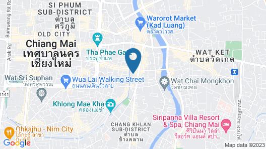 Star Hotel Chiang Mai Map