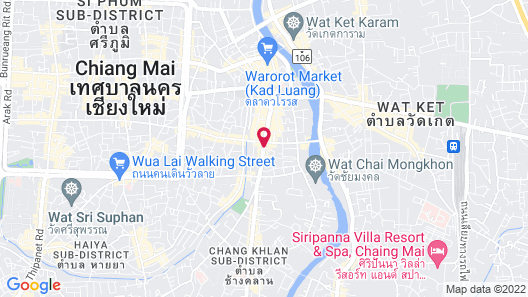 Dusit Princess Chiang Mai Map