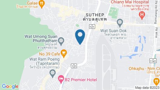 Villa Mahabhirom Map