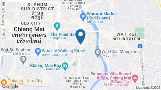 Mövenpick Suriwongse Hotel Chiang Mai Map