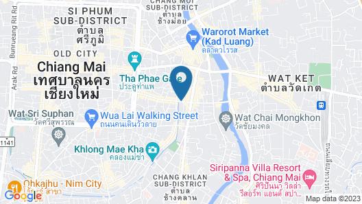 Nap in Chiangmai Map