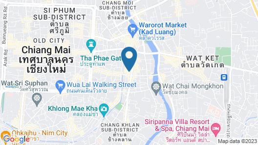 Le Meridien Chiang Mai Map