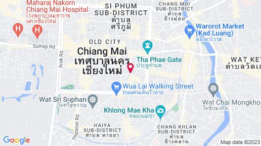 Bodhi Serene Chiang Mai Map