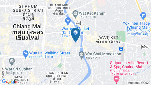 Melia Chiang Mai Map
