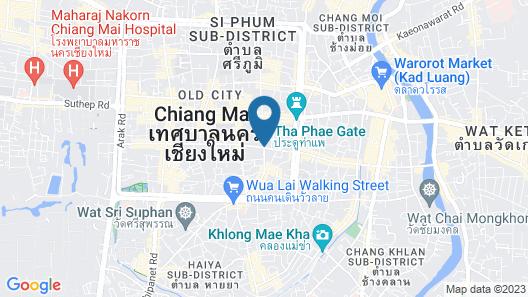 Villa Sirilanna Hotel Map