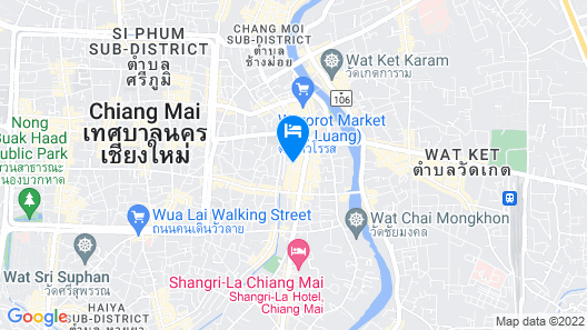 dusitD2 Chiang Mai Map
