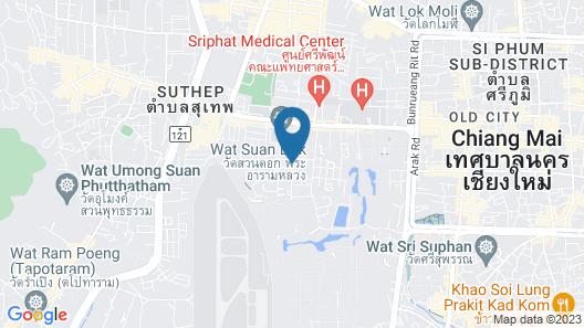 The Chaya Resort And Spa Chiang Mai Map