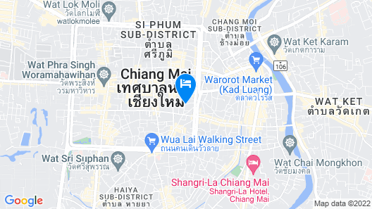 Top North Hotel Map