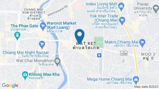 Shewe Wana Suite Resort Map
