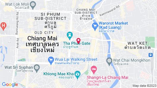 De Chai Colonial Hotel & Spa Map