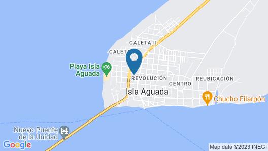 Cabañas Laguna By Rotamundos Map