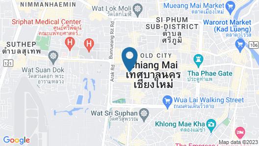 Phra Singh Village Map