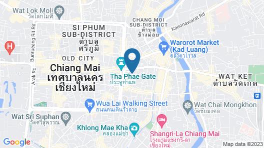 De Chai the Deco Chiang Mai Map