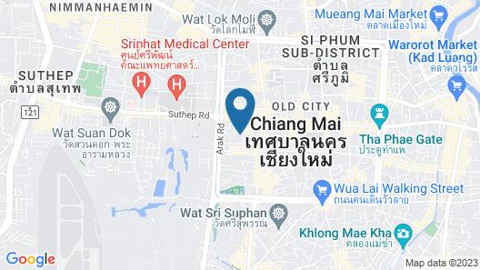Rachamankha Hotel Map