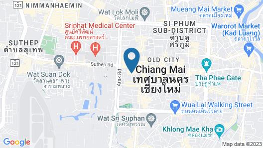 Cheeva Dee Hotel Map
