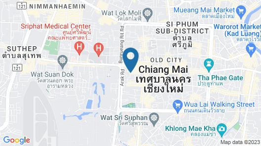 Nanya Hotel Chiang Mai Map