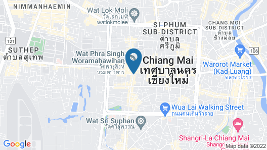 BED Phrasingh Hotel - Adults Only Map