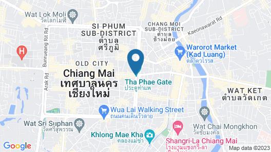 Hotel M Chiang Mai Map