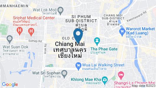 U Chiang Mai Map
