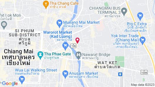 137 Pillars House Map