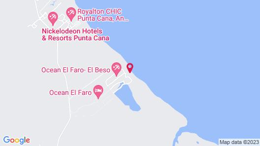 Ocean El Faro Resort - All Inclusive Map
