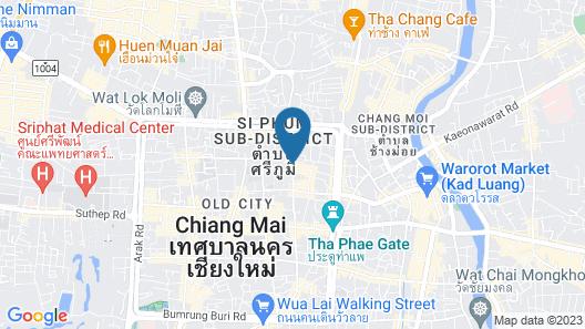 Sumittaya Chiangmai Hotel Map