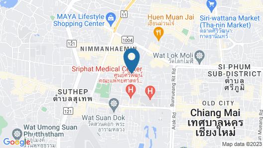 Buri Siri Hotel Map