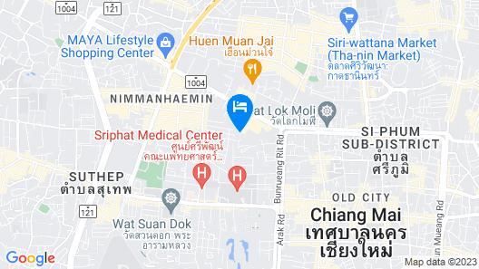 Lotus Hotel Pang Suan Kaew Map