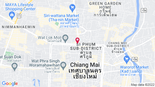 Icon Park Hotel Chiang Mai Map