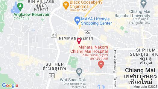 De Chai Oriental Nimman Map