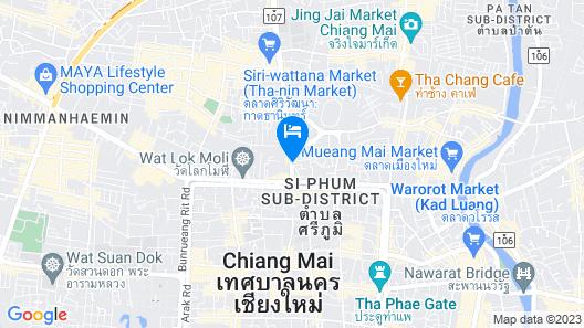 Changpuak Boutique House Map