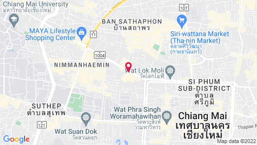 Chiang Mai Orchid Hotel Map