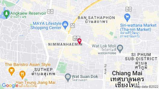 Stay with Nimman Chiang Mai Map