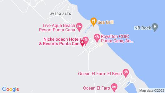 Nickelodeon Hotels & Resorts Punta Cana, Gourmet All Inclusive by Karisma Map