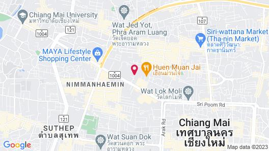 Sakulchai Place Hotel Map