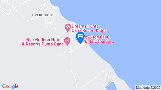 Royalton CHIC Punta Cana Resort & Spa - Adults Only - All Inclusive Map