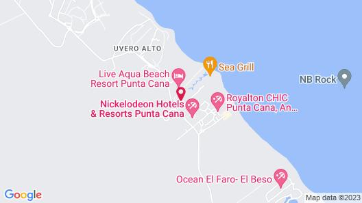 Dreams Punta Cana Resort & Spa Map