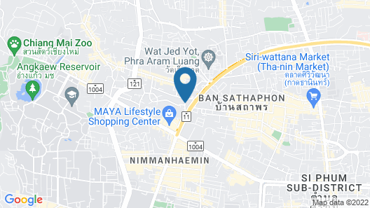 Cmor by Recall Hotels, Chiang Mai Map