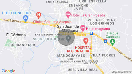 Luxury Apartment in the Heart of San Juan Map