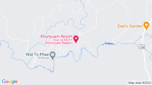 Khunyuam Resort Map