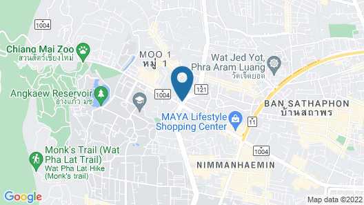 ibis Styles Chiang Mai Map