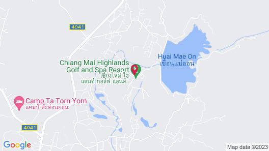Chiangmai Highlands Golf and Spa Resort Map