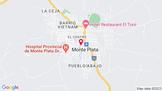Villa Campestre CON Piscina Map
