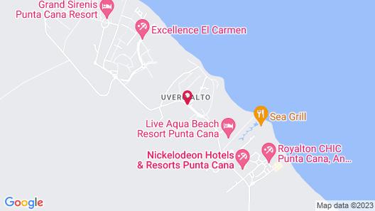 Ocean El Faro El Beso - Adults Only - All Inclusive Map