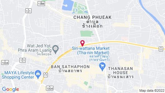 Wintree City Resort Chiang Mai Map