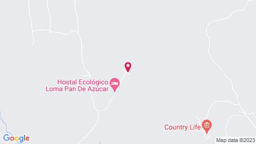 Hotel Ecológico Loma Pan de Azúcar Map