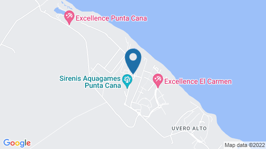 Grand Sirenis Punta Cana Resort & Aquagames - All Inclusive  Map