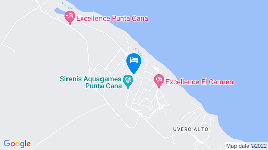 Grand Sirenis Punta Cana Resort & Aquagames - All Inclusive Map