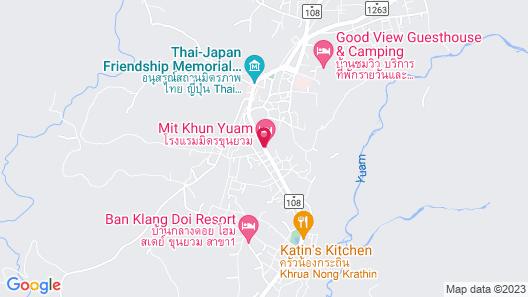 Banputawan Guesthouse Map