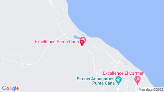 Excellence El Carmen - Adults Only All Inclusive Map